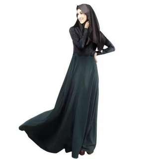 Kaftan Abaya Maxi Dress