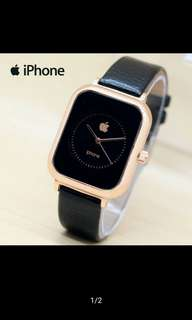 Jam tangan apple analog MURAH!!!