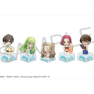 [PO] Code Geass: Lelouch of the Rebellion III Koudou - Sea Cube Acrylic Keychain 5Pack BOX