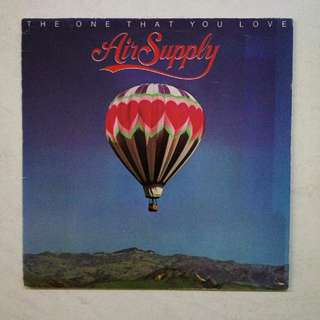 Air Supply vinyl record