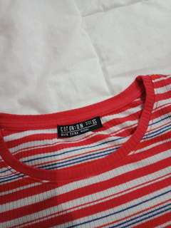 Cotton On 90s Striped Shirt