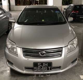 $53/day Toyota Axio 1.5A