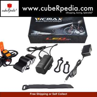 VICMAX A30 LED Front Light for Bicycle / Scooter