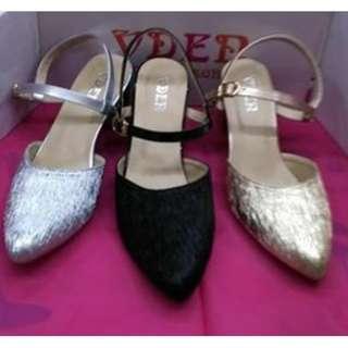 vden sandal chunky heel