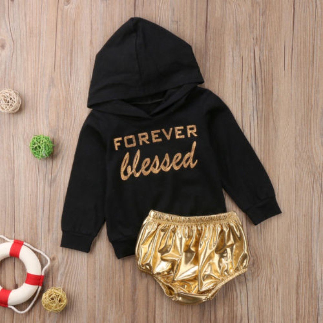 f87710ca1996 2pcs Newborn Toddler Baby Boy Girl Hooded Sweater Tops Pants Outfits ...