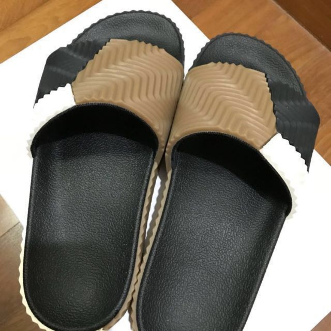 official photos 7018b 4f872 Adidas Originals by Alexander Wang Adilette Slides, Mens Fas