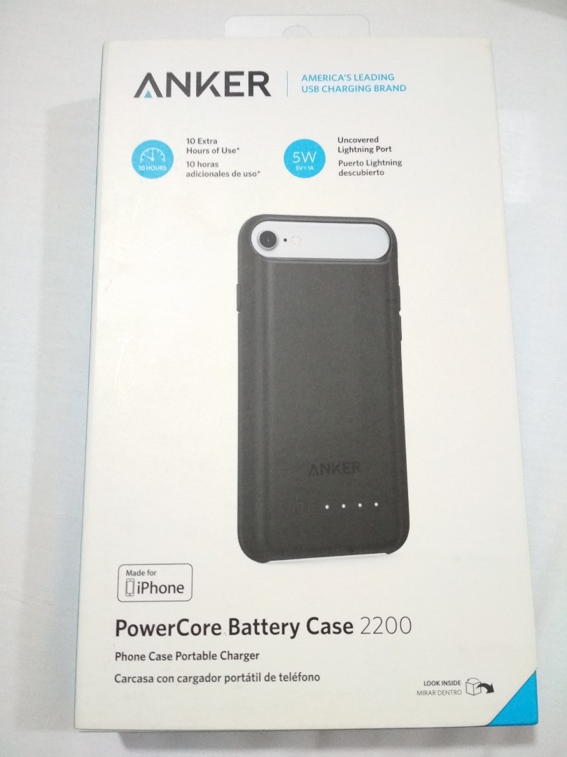 new style 75039 70029 ANKER PowerCore Battery Case 2200