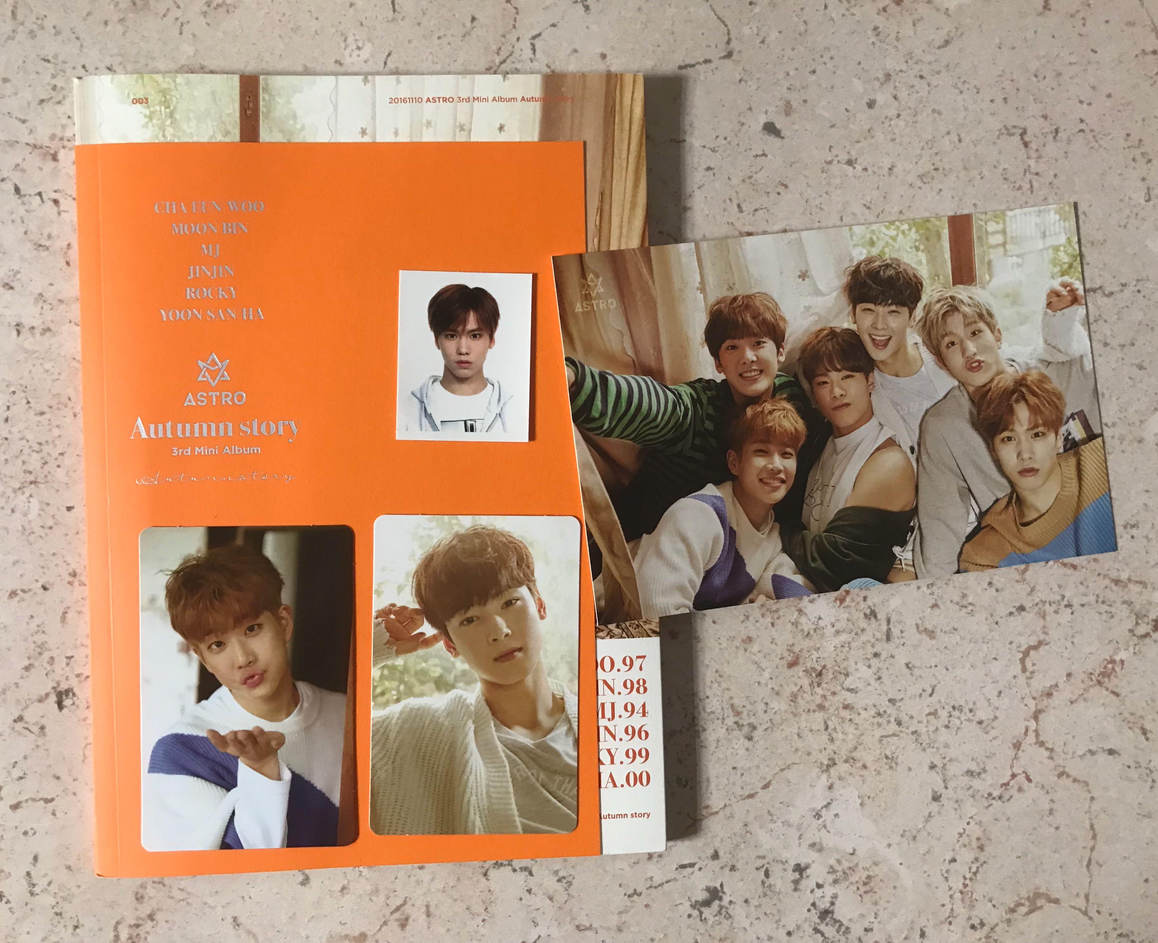 Astro Autumn Story Album (Orange ver)