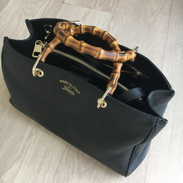 40d22fccd Authentic Gucci Bamboo Tote, Women's Fashion, Bags & Wallets on ...