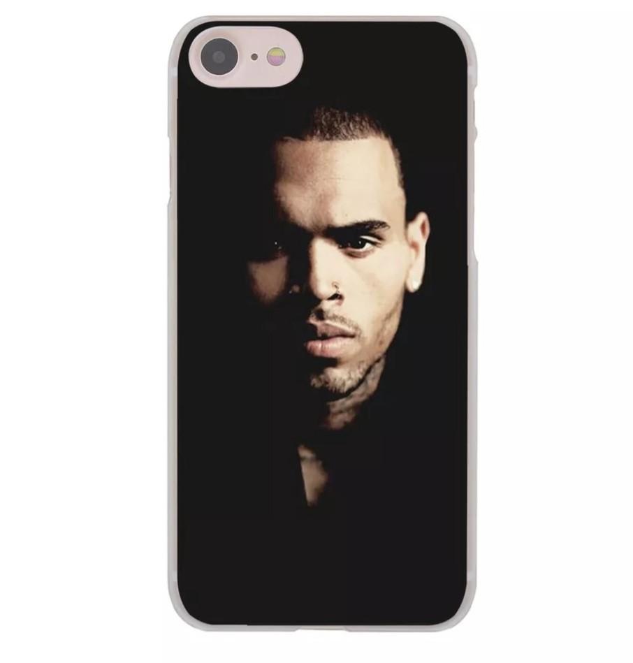 Chris Brown iPhone X Case iPhone 8 7 6 Plus Singer Freaking