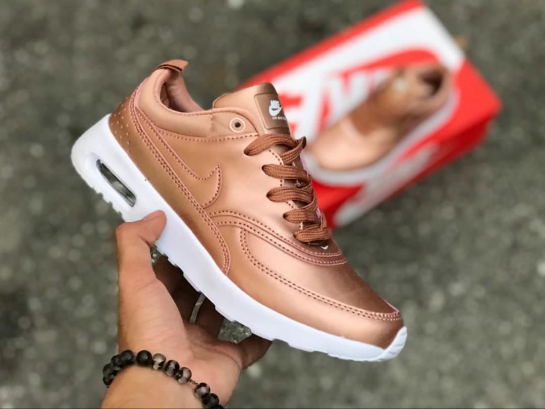482debceae1b Harga asal RM225)Nike Airmax Thea Rose Gold