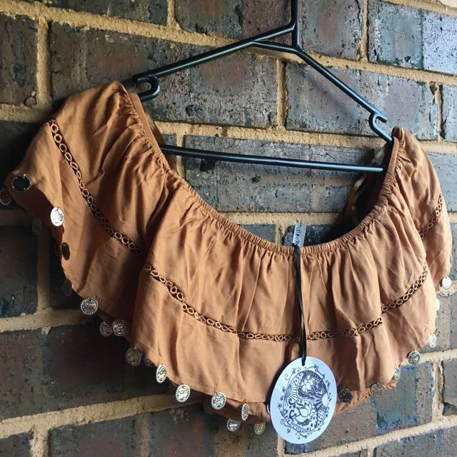 Her Pony The Label boho festival Crop
