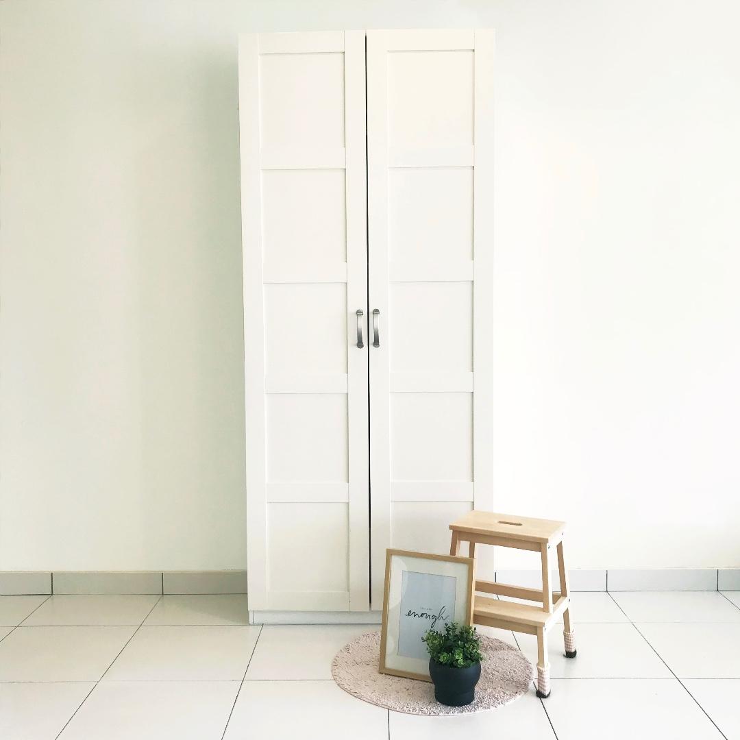 IKEA PAX Wardrobe frame with BERGSBO Door