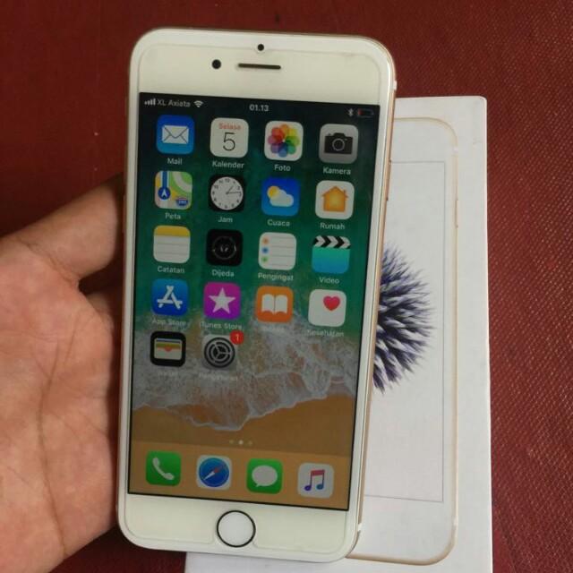 iphone 6 32gb FU Gold ex resmi Ibox masih garansi 2c4d72a2a9