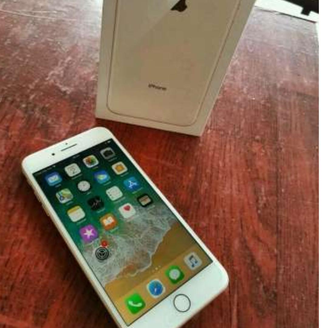 Iphone 8 Plus 256GB Gold Super Mulus 100% Kaya Baru Fullset garansi ... 448914dcb2