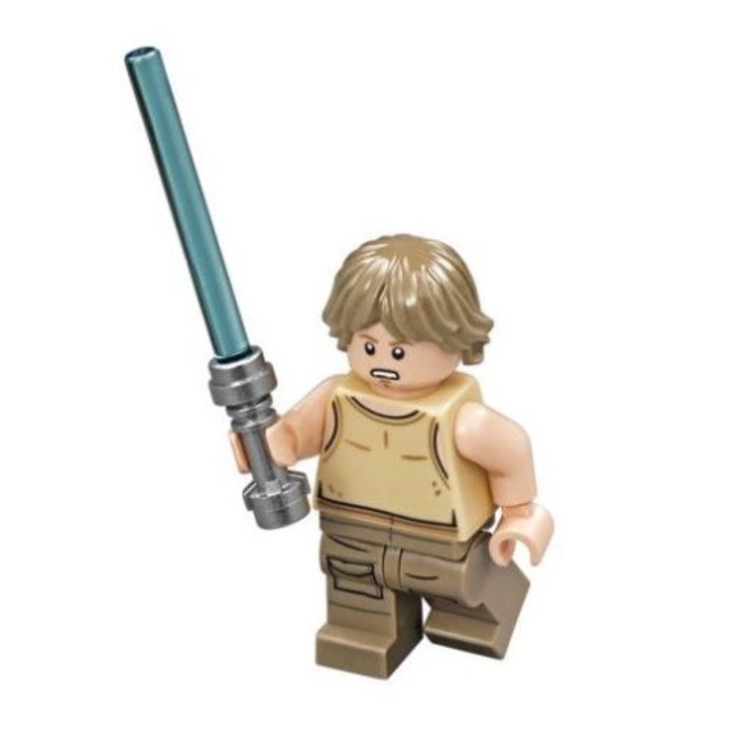 Lego Star Wars Luke Skywalker Dagobah 75208 Minifigure New Toys