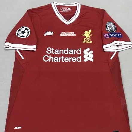 purchase cheap 96e90 22e5f Liverpool UCL 17/18 Final Home Jersey (INSTOCK), Sports ...
