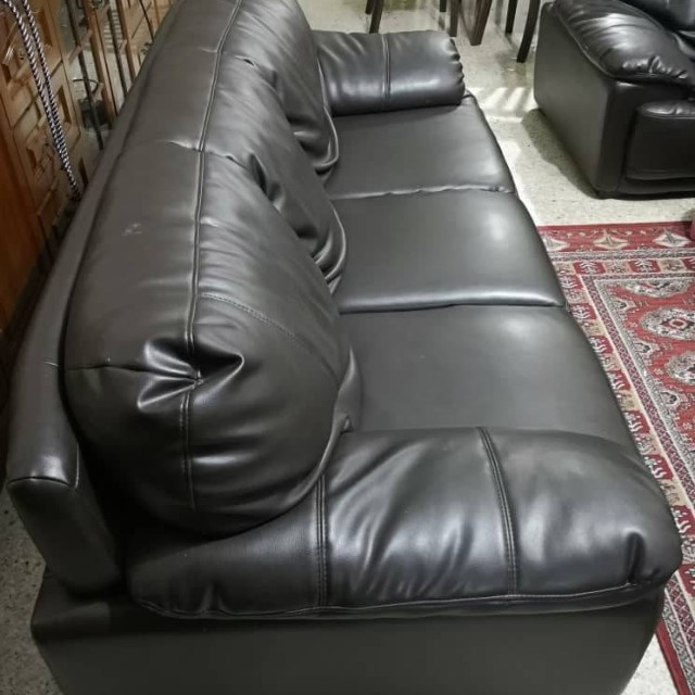 Lorenzo Leather Sofa Home Furniture