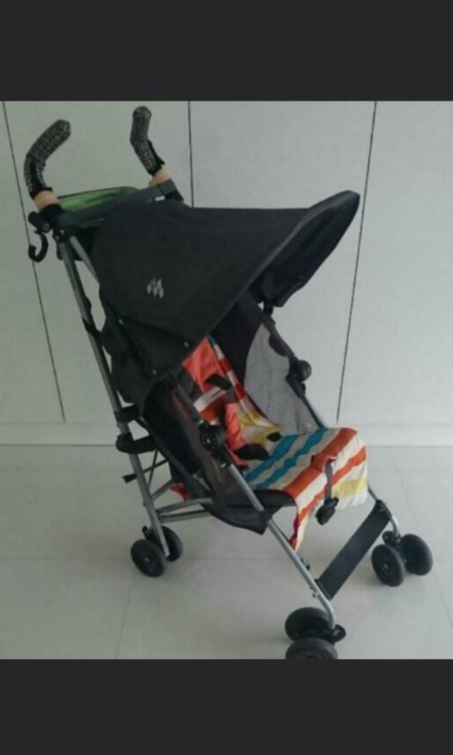 Maclaren Globetrotter Grey Umbrella Stroller