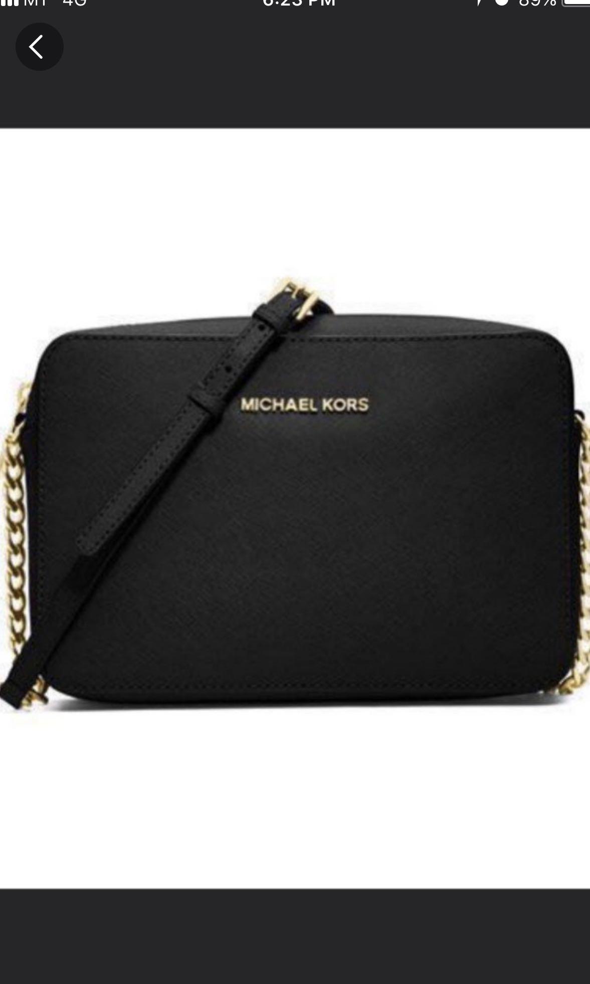 9dd95d1a978f Michael Kors Jetset small sling bag