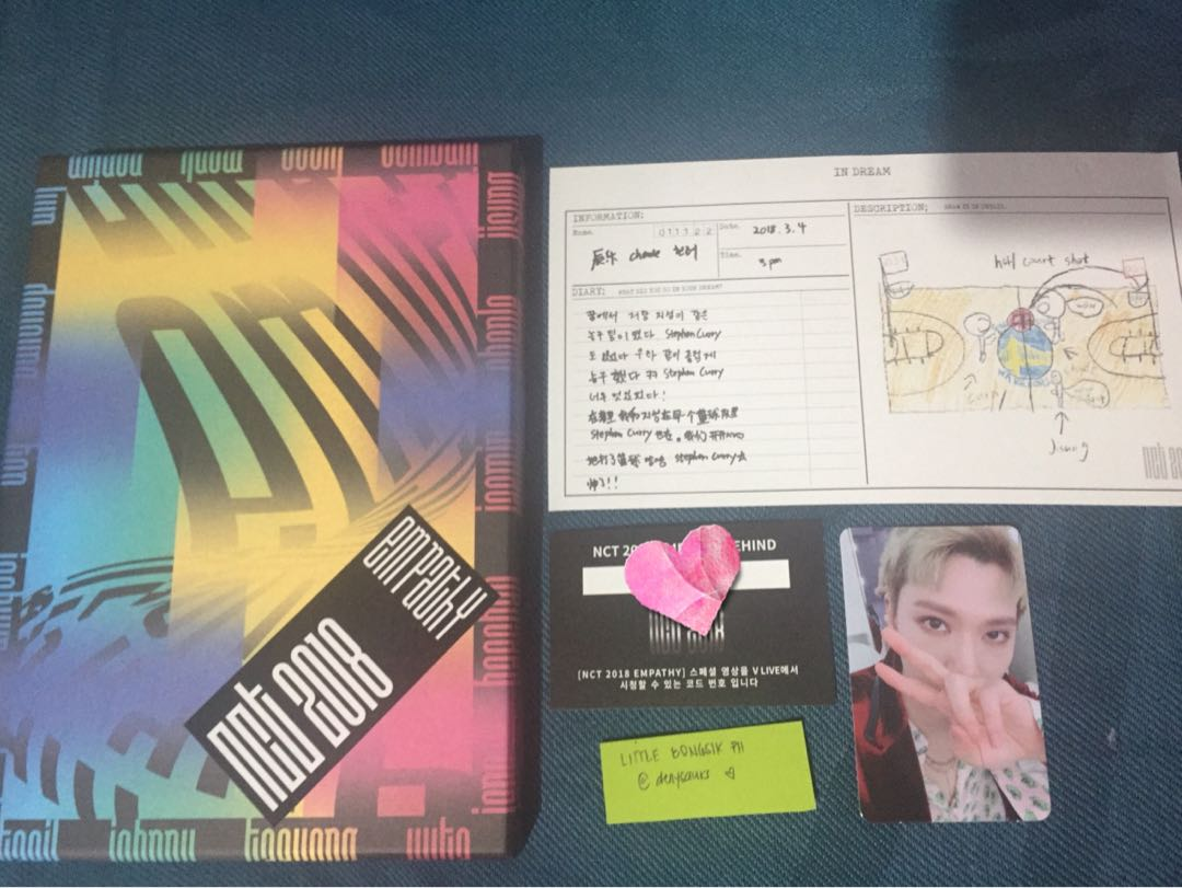 NCT 2018 EMPATHY DREAM VER  UNSEALED NO PC on Carousell