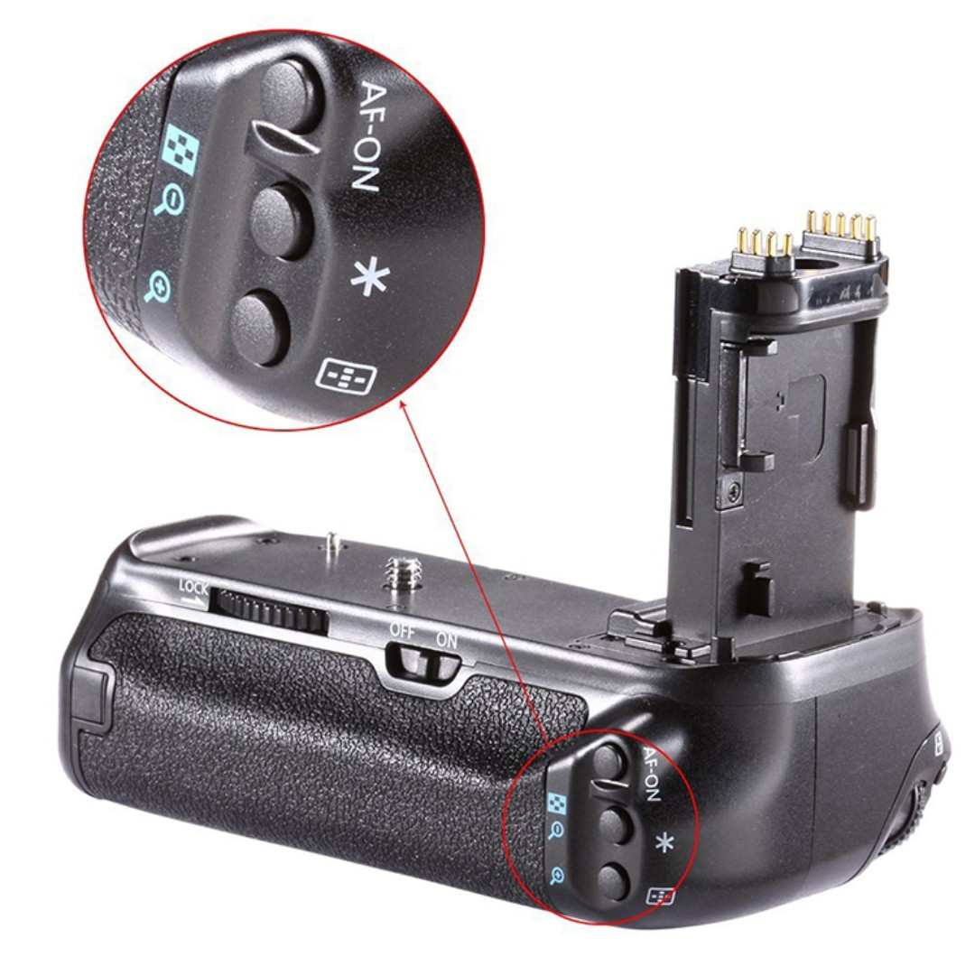 NEEWER 佳能電池手把 Canon 70D 80D專用 相機手把 垂直把手 可放LP-E6鋰電池