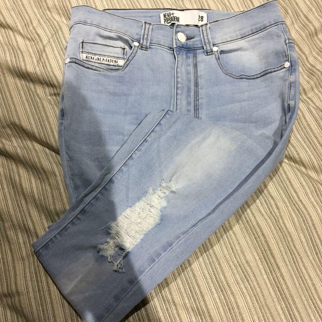 Nena & Pasadena Ripped Jeans