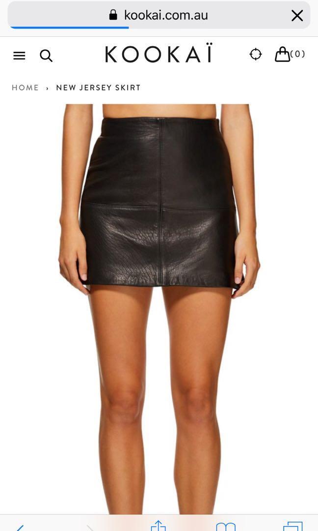 New Jersey skirt