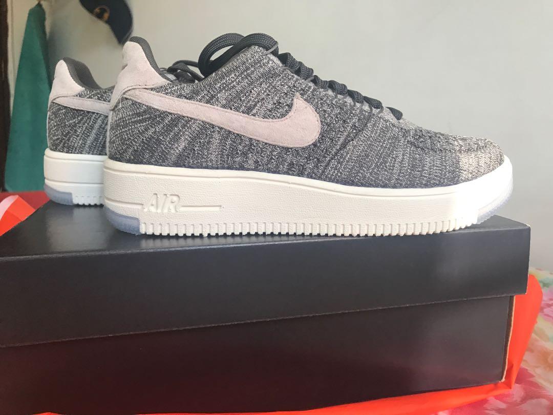 promo code 2c059 c73a0 Nike Air Force 1 Flyknit Low, Women's Fashion, Shoes ...