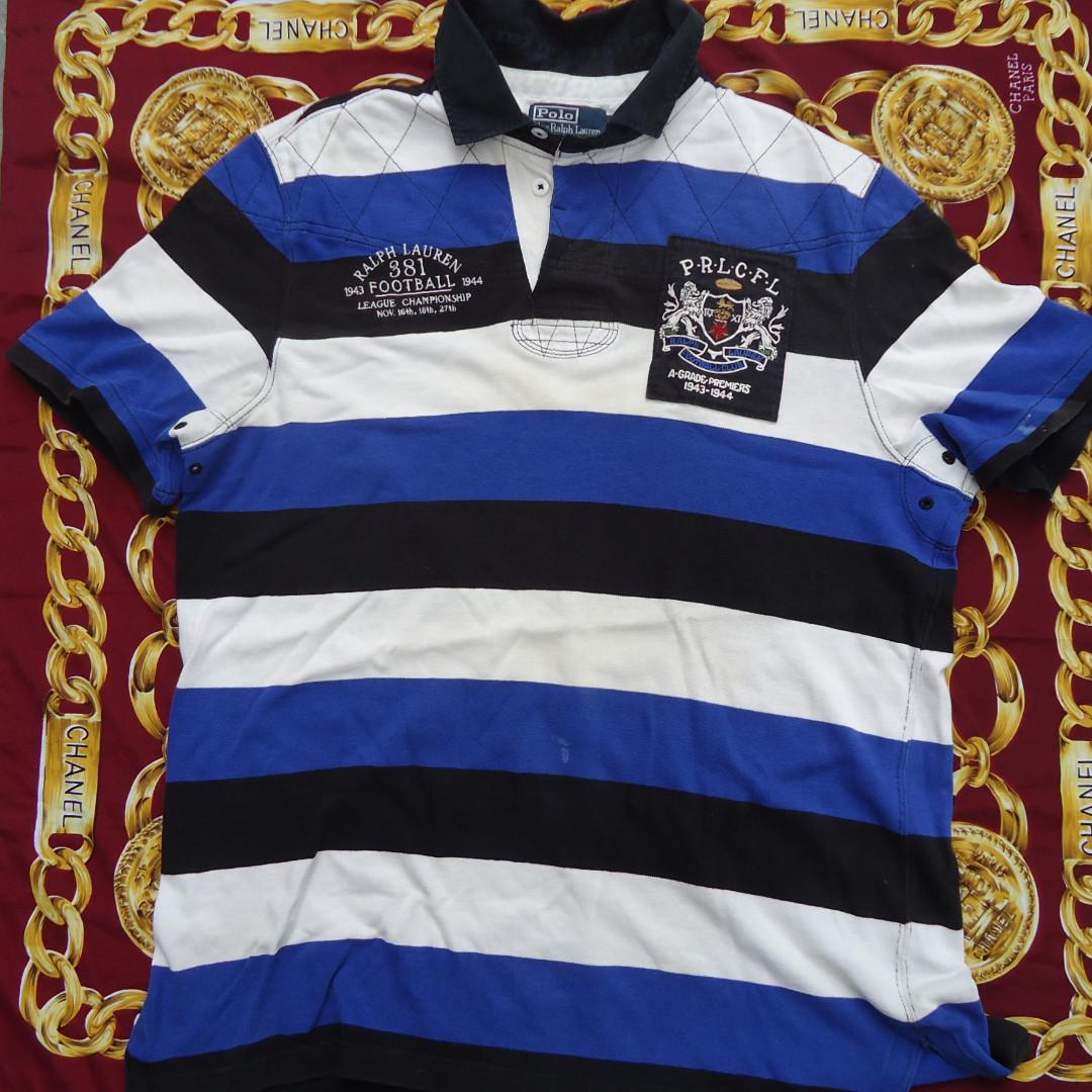 Rugby Ralph Collar T Football Polo Lauren Shirt Club UVqMGSzp