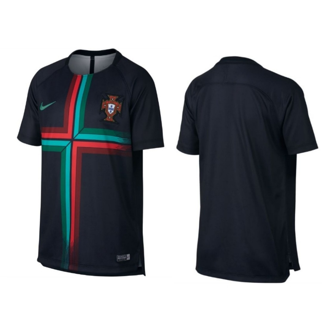 Portugal Training Jersey 2018 Sports Sports Apparel On Carousell