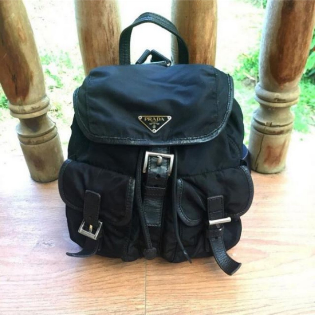 d96ee42d61b2 ... low price prada backpack preloved womens fashion bags wallets on  carousell f742e a8853