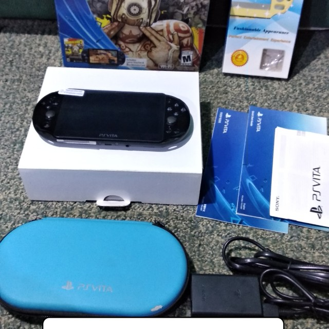 Ps vita slim blk henkaku 3 60 on Carousell