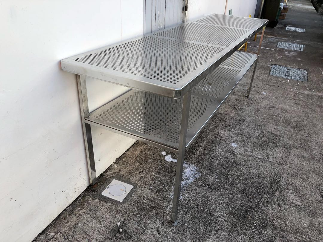 Terrific Solid Steel Table Furniture Tables Chairs On Carousell Spiritservingveterans Wood Chair Design Ideas Spiritservingveteransorg