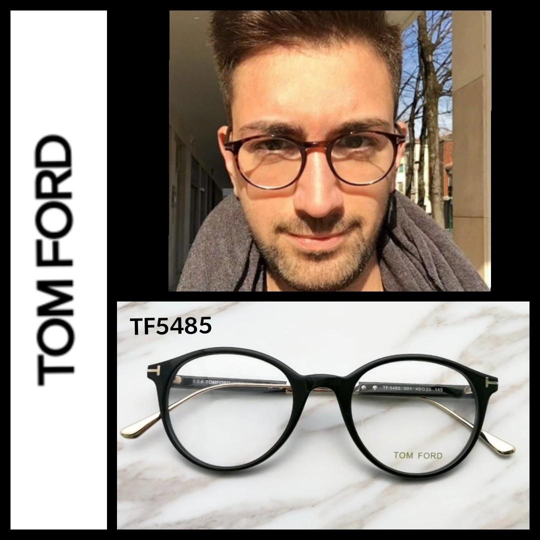 5f8a2379312db Tom Ford TF5485 round eyeglasses