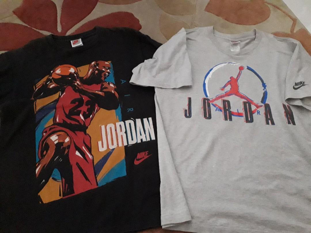 58ff8652b0ee Vintage air jordan tshirt