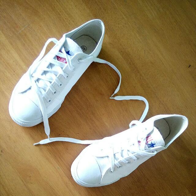 5b889b0e7793 White All America sneakers