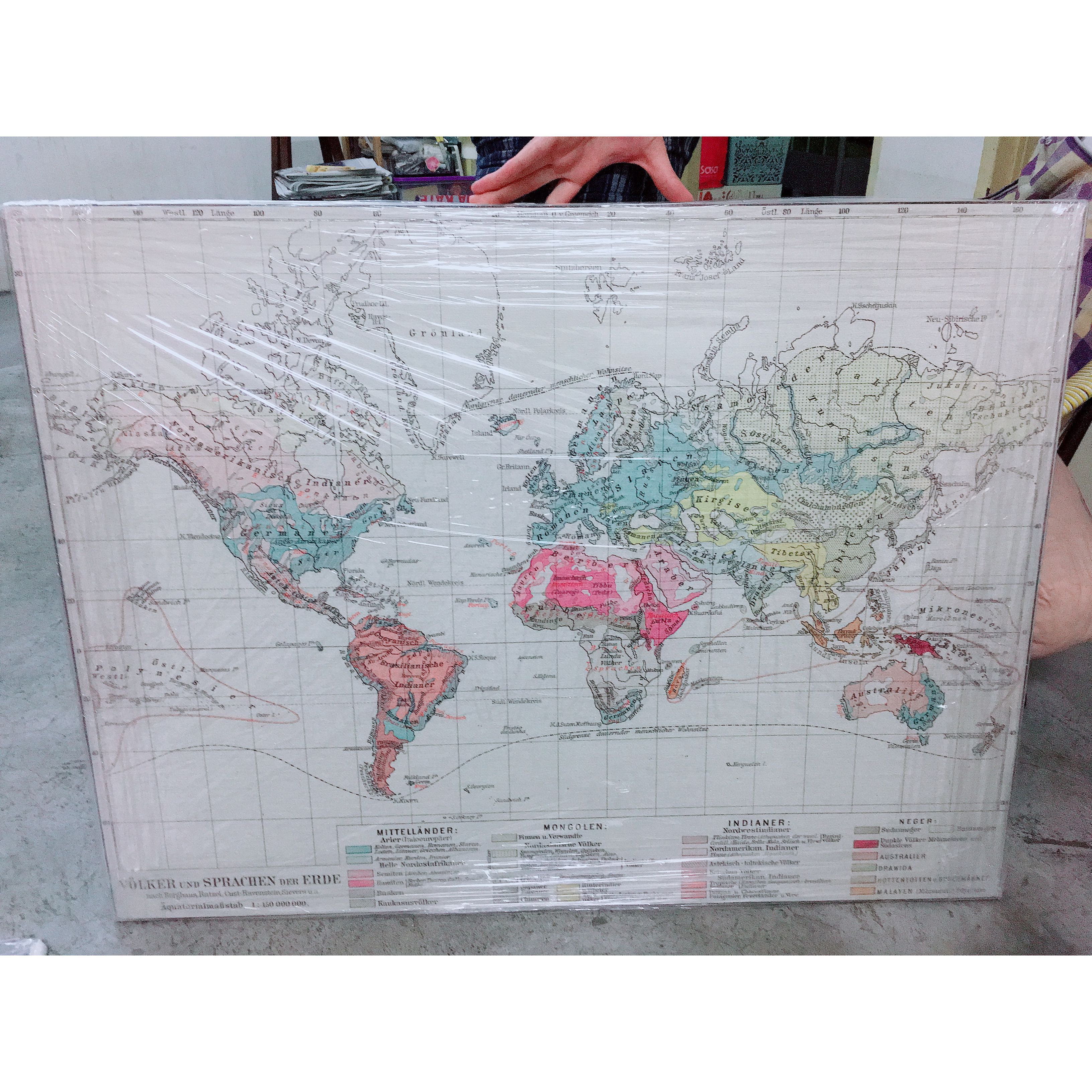 World map frame wall deco home furniture home dcor on carousell gumiabroncs Images