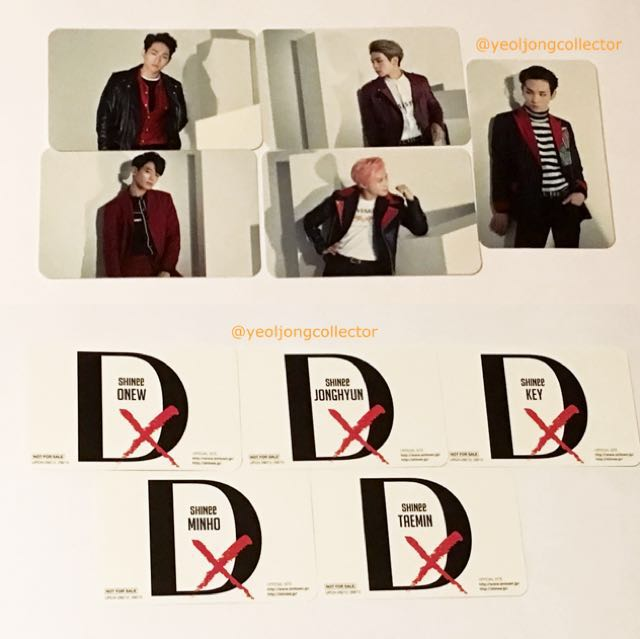 WTB SHINee DxDxD Photocard, Bulletin Board, Looking For on Carousell