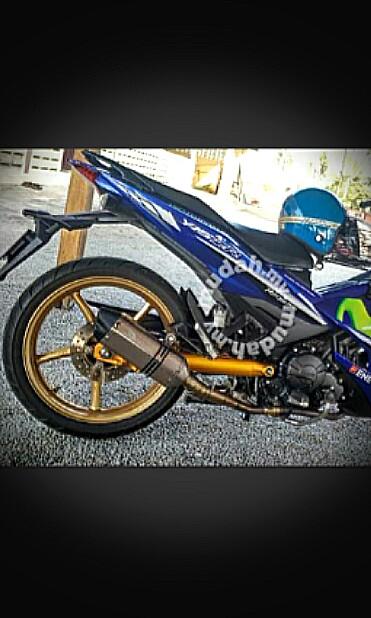 Y15ZR racing line Exhaust