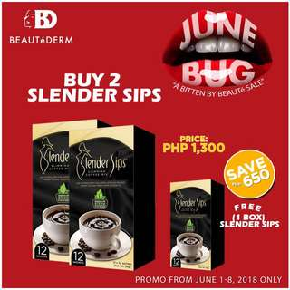 Slender Sips Slimming Coffee Mix