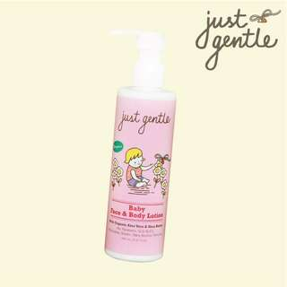 Organic face and body lotion