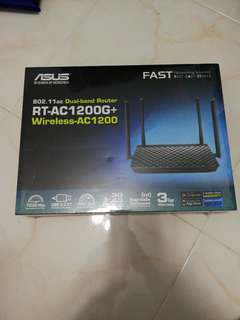 Asus 802.11ac Dual Band Router RT-1200G+ Wireless AC1200 BRAND NEW SEALED BNIB