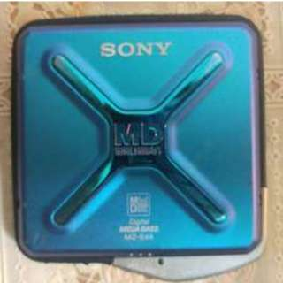 Sony MZ-E44,  MD機 ,Unit Only, 聲音好