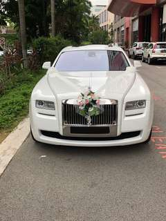 Rolls Royce to cater for your special day. Come and see it and book it for your Special Day!!!