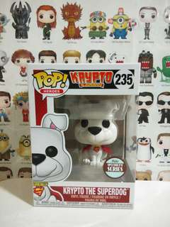 Funko Pop Krypto Superdog Speciality Exclusive Vinyl Figure Collectible Toy Gift