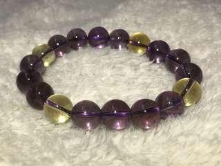 天然紫黃晶