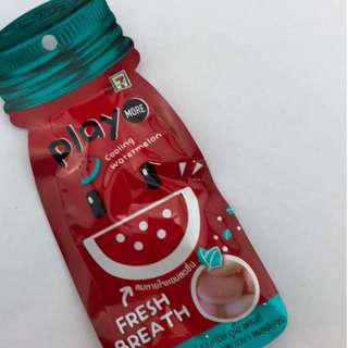 7-11 Thai PLAY MORE cooling watermelon gummy