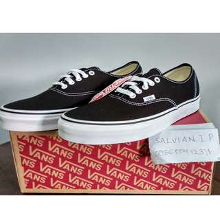 Vans Authentic Black Original New (BNIB)