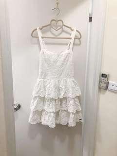 🚚 專櫃正品🌸綉花純白手工裙✨降低價600✨